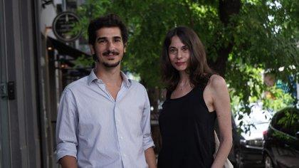 Luciano Lutereau y Marina Esborraz (foto: Agustina Zunini)