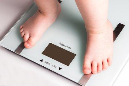 Un estudio muestra la asociación del de la masa grasa desde el nacimiento a los 6 meses de vida con situaciones de sobrepeso infantil  (Shutterstock)