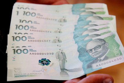 Mensajero fingió robo para quedarse con 100 millones de pesos. EFE/Leonardo Muñoz/Archivo