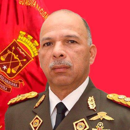 MG Richard López Vargas era comandante general de la GNB