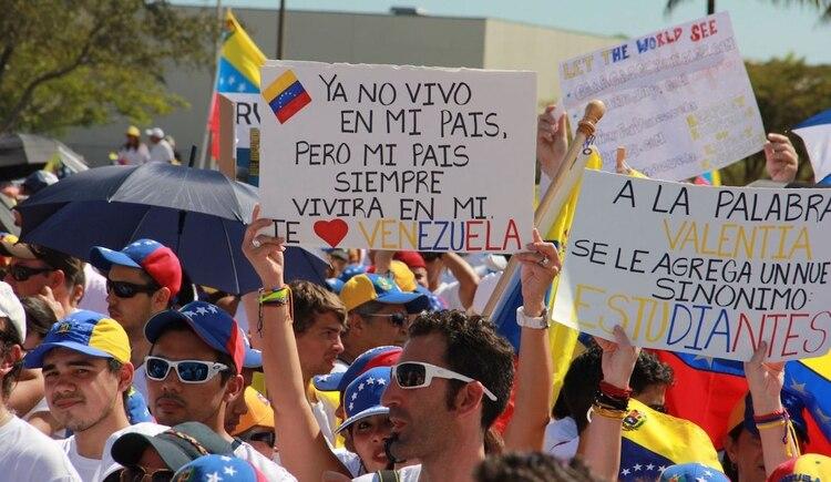 El exilio venezolano