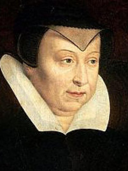 Catalina de Medicis, la regente negra, era hija de Lorenzo de Medicis