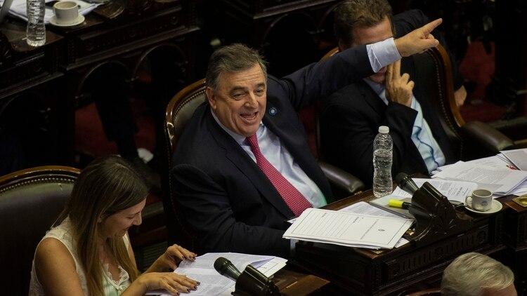Mario Negri, presidente del interbloque de Cambiemos (Adrián Escandar)