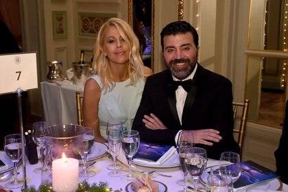 Barbie Simons y Javier Saiach