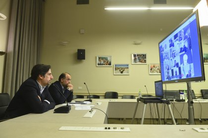 El ministro de Educación, Nicolás Trotta, sostuvo una reunión virtual con las universidades y ministros provinciales