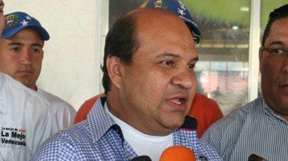 El periodista venezolano y dirigente del Voluntad Popular,Roland Carreño