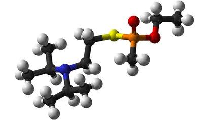Composición química del agente nervioso VX