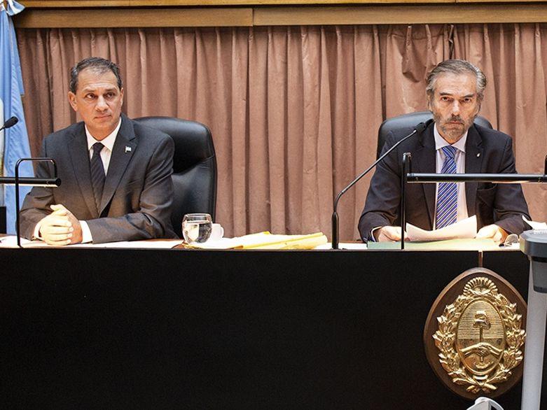 Los jueces de la Cámara de Casación Penal, Javier Carbajo y Gustavo Hornos