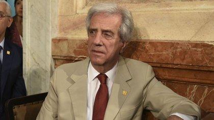 Tabaré Vazquez también era el presidente uruguayo cuando UPM instaló su primera planta en el 2005.