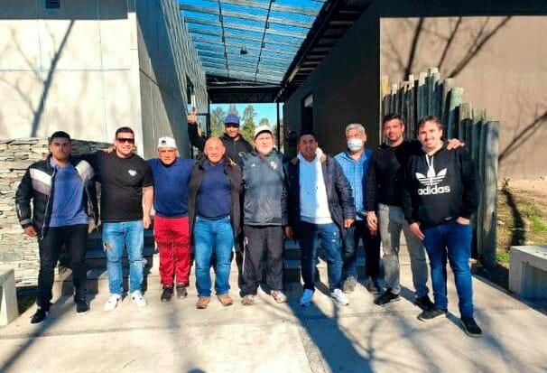 Los Borrachos del Tablón, la barra de River, con líderes sindicales