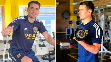 Hoy Julián Chicco se entrena con el plantel de Reserva aunque no es considerado por Sebastián Battaglia (@julianchicco)