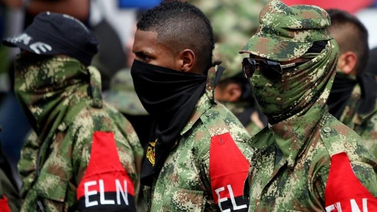 Guerrilleros del Ejército de Liberación Nacional