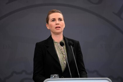 Mette Frederiksen (Ritzau Scanpix vía Reuters)