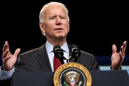 El presidente de los Estados Unidos, Joe Biden (REUTERS/Jonathan Ernst)