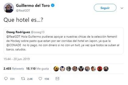 Del Toro ha sido tendencia en Twitter por la ayuda que ha ofrecido a jóvenes mexicanos.