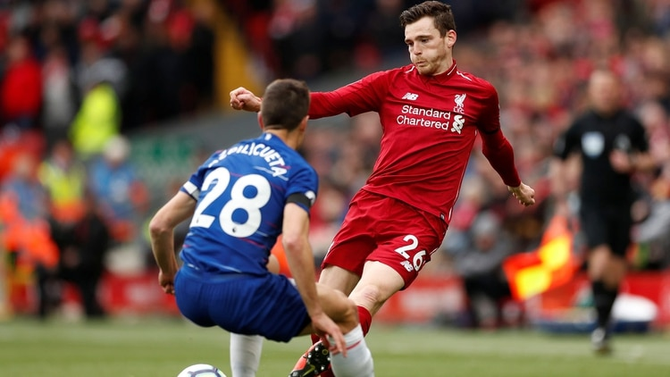 Soccer Football Premier League Liverpool V Chelsea Anfield Liverpool Britain