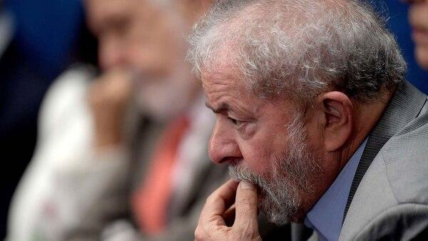 El ex presidente Lula da Silva, condenado a prisión por corrupción (AFP)