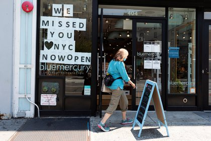 New York is since last Monday in the third phase of re-opening (EFE)