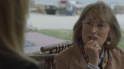 """Por su destacado trabajo en la segunda temporada de """"Big Little Lies"""" (HBO), Meryl Streep podría sumar a su estantería un nuevo Globo de Oro"""
