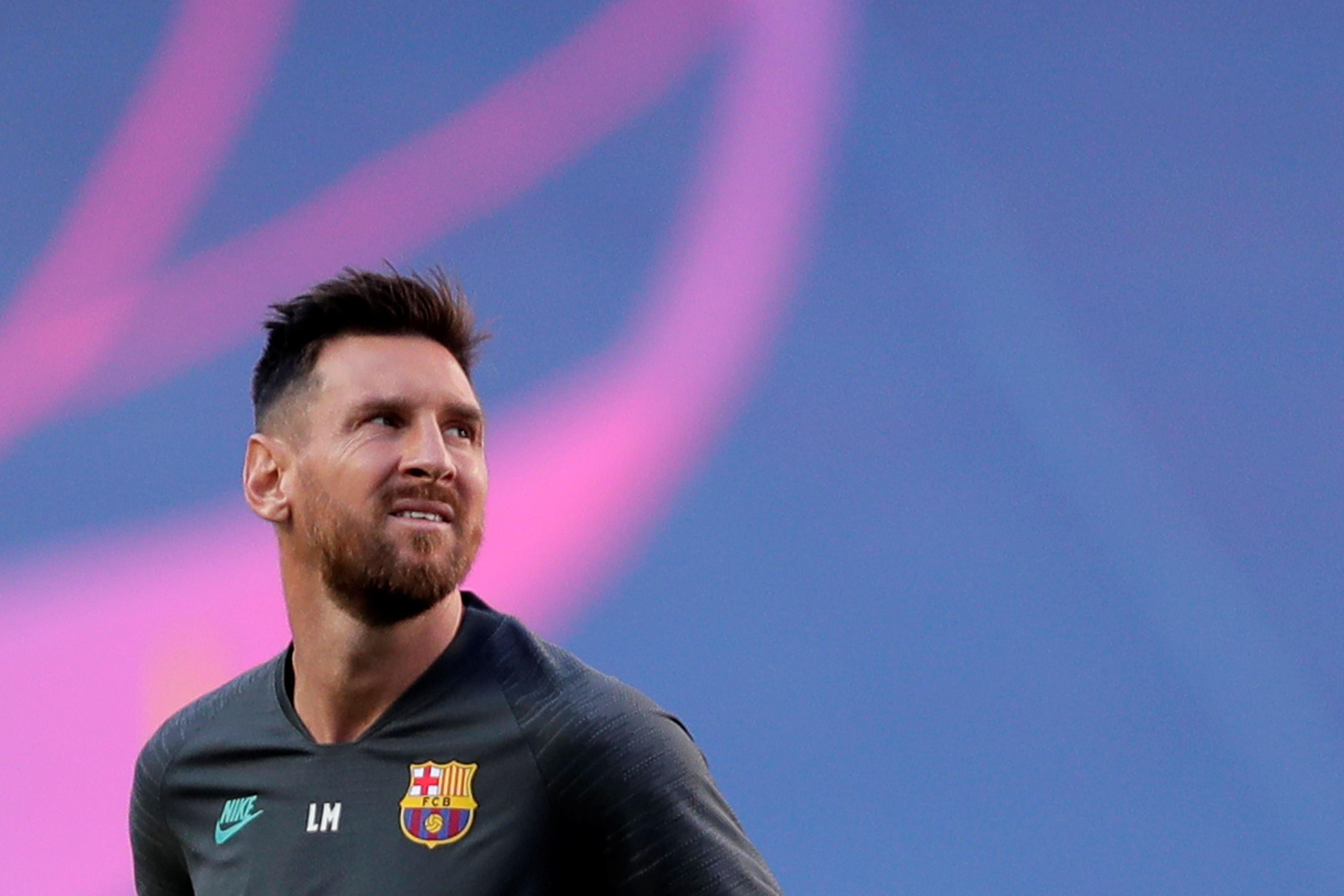 El futuro de Lionel Messi sobre el tapete en todos los portales de fútbol (Manu Fernandez/Pool via REUTERS)