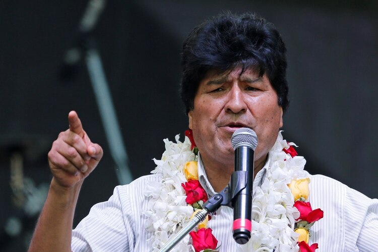 Evo Morales, presidente de Bolivia (REUTERS/Mariana Greif/File Photo)