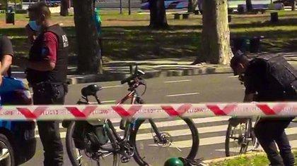 El ataque ocurrió en el cruce de las calles San Martín y Avenida Madero
