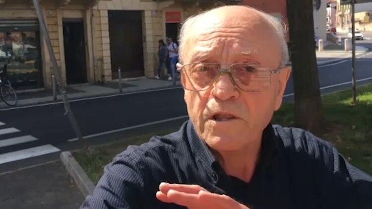 El sacerdote Pirmati está refugiado en la sede del Próvolo en Verona, desde 2017