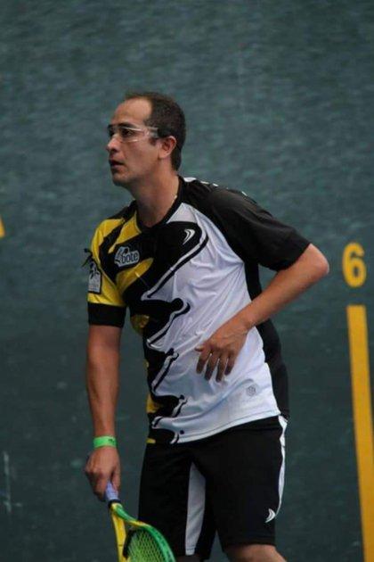 Romo practicó por muchos años el frontón, además del squash (Foto: Twitter)
