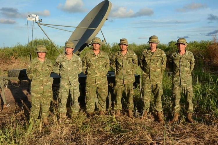 Efectivos del Ejército en la Frontera Norte durante un operativo de apoyo a las fuerzas de seguridad