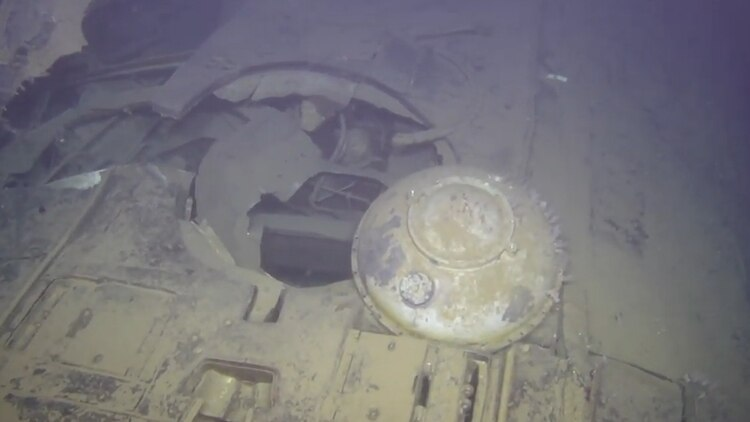 El buque se hundió en 1989 por un incendio en la sala de máquinas