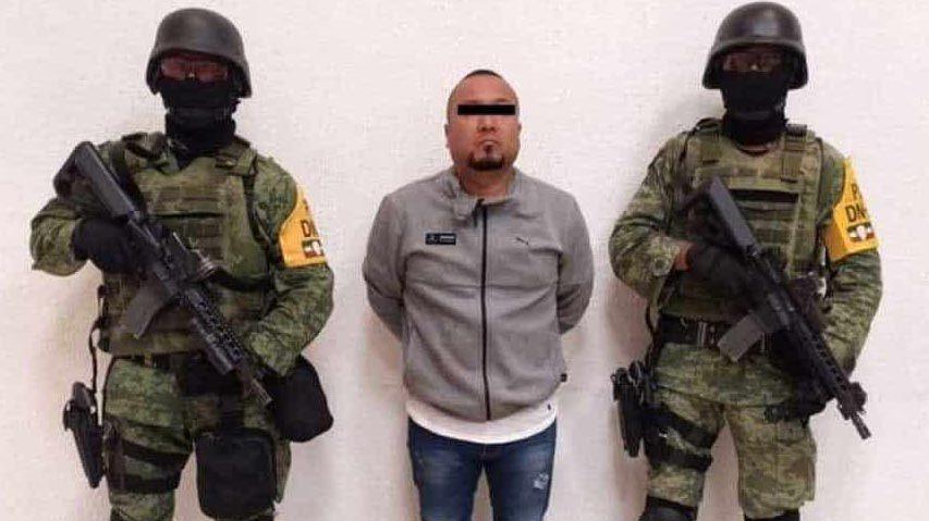 """""""El Marro"""" habría solicitado una televisión y unos audífonos para su celda (Foto: Twitter Fiscalía de Guanajuato)"""