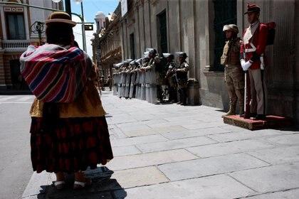 El clima en La Paz (REUTERS/Manuel Claure NO RESALES. NO ARCHIVES)