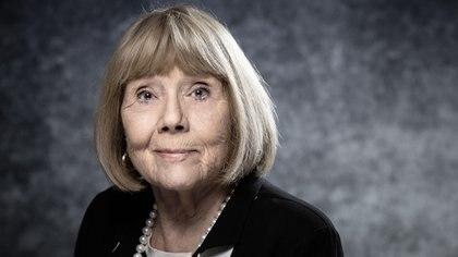 Diana Rigg murió a los 82 años (Photo by JOEL SAGET / AFP)