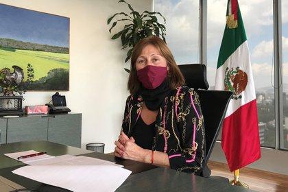Tatiana Clouthier presentó un plan de rescate económico para sacar a México de la crisis (Foto: REUTERS/Dave Graham)