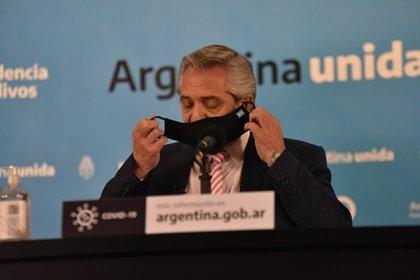 Alberto Fernández (Foto: Franco Fafasuli)
