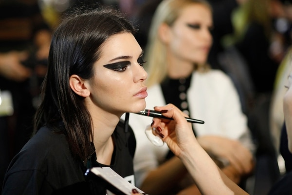 Kendall Jenner Versace show Milan Fashion Week (Getty Images)