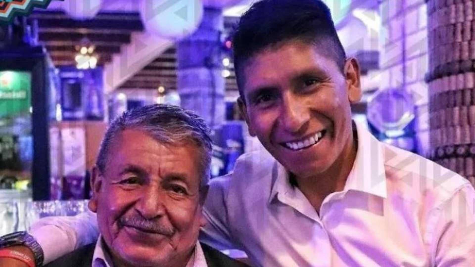 Hospitalizado con sospechas de covid-19, Luis Quintana, padre de Nairo, se encuentra recibiendo atención en el Hospital San Rafael de Tunja / (Instagram: nairoquincoficial).