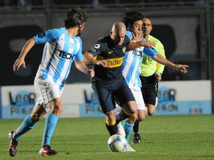 Pablo Lunati vio campeón a Boca en la final de la Copa Argentina contra Racing en el año 2012 (Fotobaires)