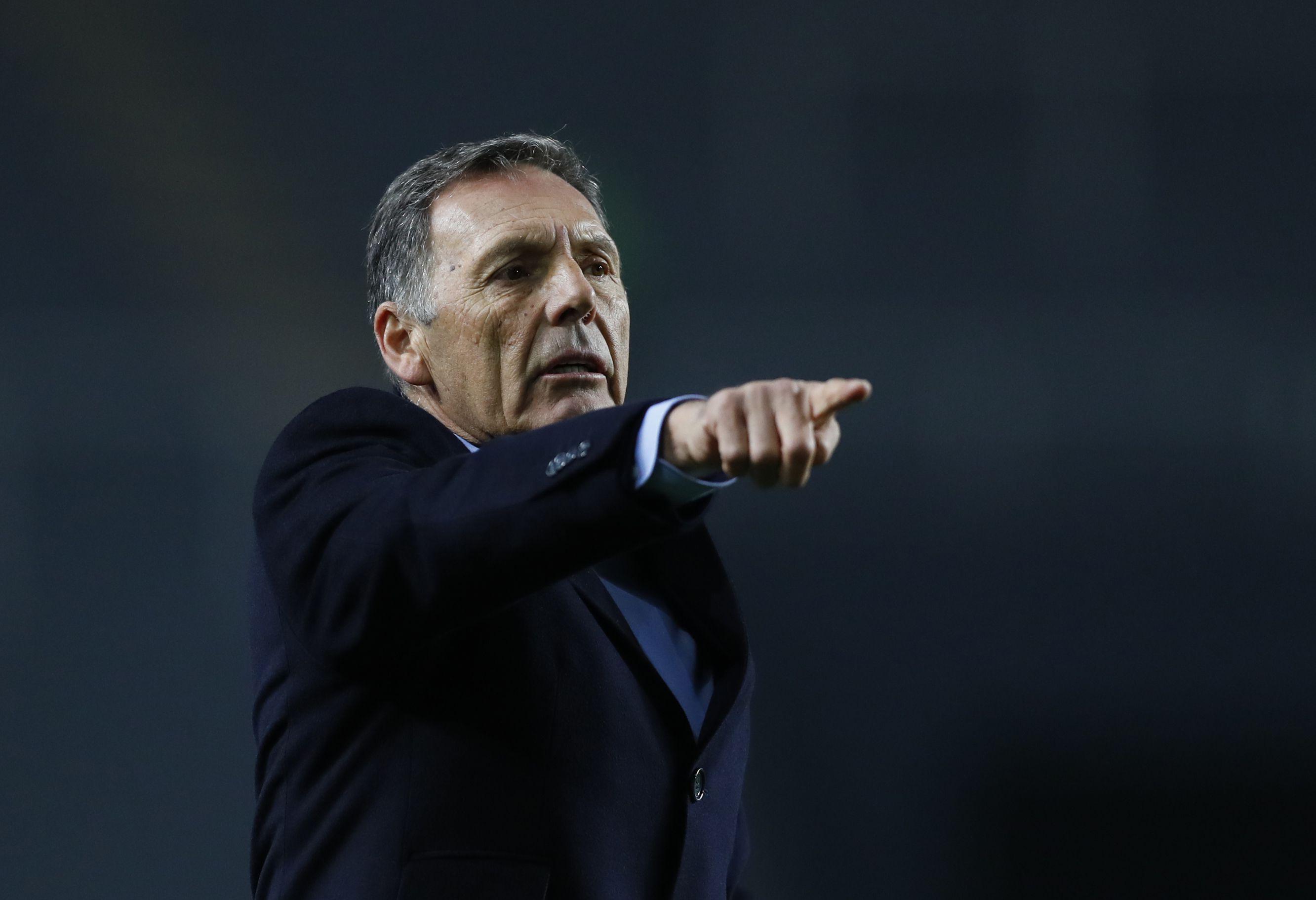 Miguel Ángel Russo, como entrenador, ganó tres definiciones por penales contra River Plate: dos con Boca Juniors y una con Rosario Central (REUTERS/Agustin Marcarian)