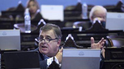 Mario Negri, jefe del bloque de la UCR en Diputados