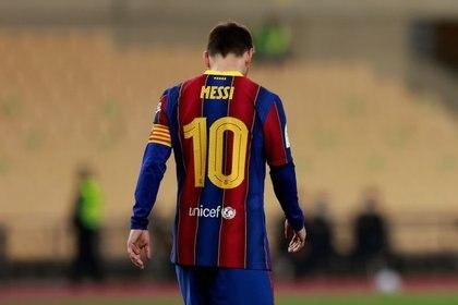Messi finaliza su contrato a final de temporada y podría marcharse libre a cualquier club (Reuters)