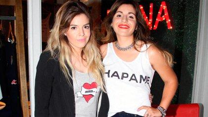 Dalma y Gianinna Maradona