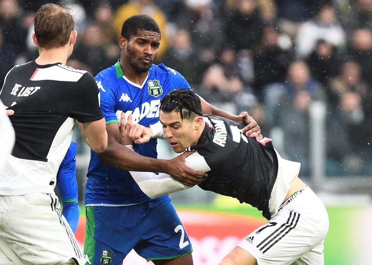 La Juventus empató con el Sassuolo y perdió la punta del campeonato - Infobae