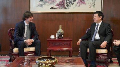 Sabino Vaca Narvaja, a tiro de ser el nuevo embajador en China