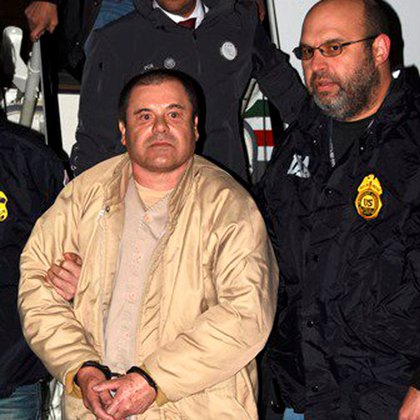 El Chapo fue extraditado a EEUU en enero del 2017 (Foto: Reuters)