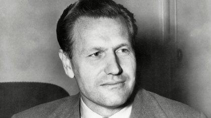 Nelson Rockefeller, que fue director del MoMA, gobernador de NY y vicepresidente de EEUU., entre muchísimos otros cargos, en 1955 (Everett/Shutterstock)