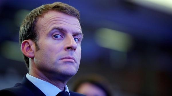 Emmanuel Macron, presidente de Francia, durante su campaña tomó todas las precauciones para que las elecciones no se vieran afectadas por ciber criminales (Reuters)