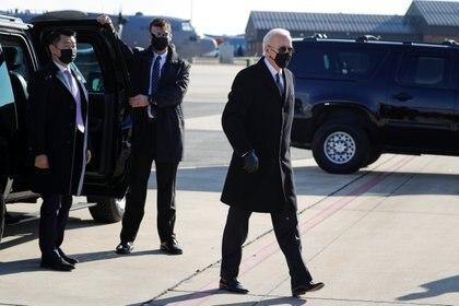 El presidente electo Joe Biden (REUTERS/Tom Brenner/Archivo)