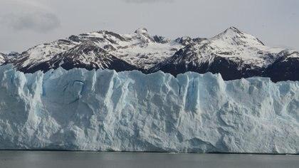 El glaciar ha estado perdiendo hielo dramáticamente en los últimos 25 años (Foto: Fernando Calzada)