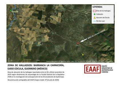 El EAAF respaldó el anunció de la FGR sobre la identificación de normalista de Ayotzinapa  (Foto:Equipo Argentino de Antropología Forense)